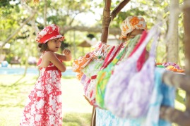 3b Summer Sun Dress+Summer Hat