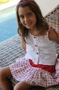 3d Polka Dress